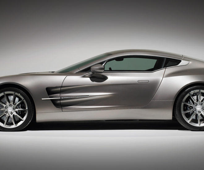 The Aston Martin One 77