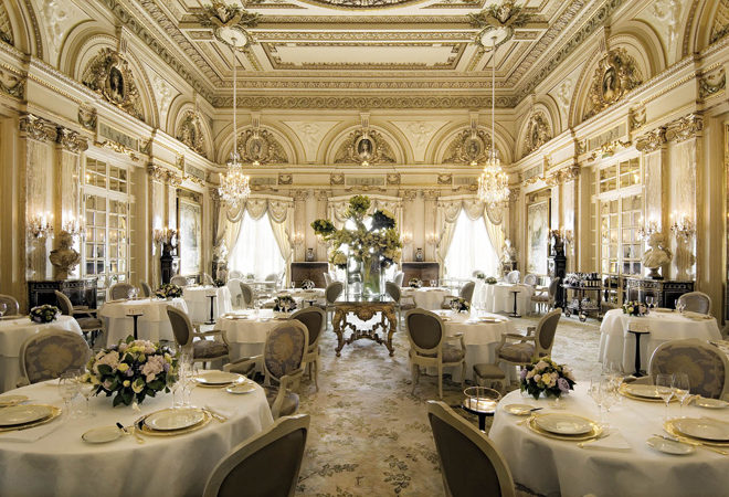 Louis XV restaurant Hotel de Paris