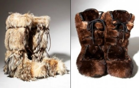 Tom Ford Furry Snow Boots fourrure bottes