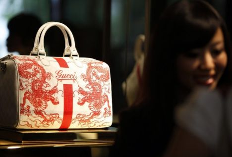 Gucci luxury bag