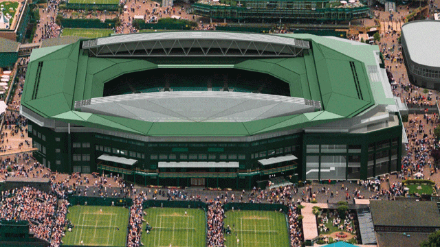New Retractable Roof At Wimbledon Centre Court
