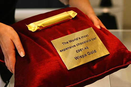 World's most expensive chocolate bar on sale