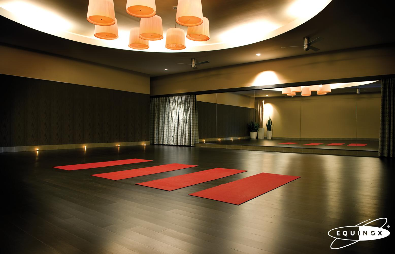 luxury gym equinox