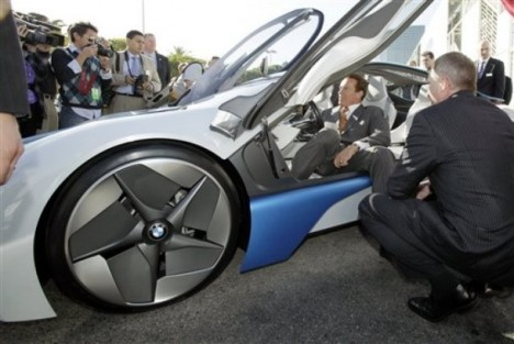 BMW Vision Efficient Dynamics Los Angeles Auto Show