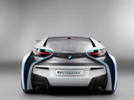BMW Vision Concept car back