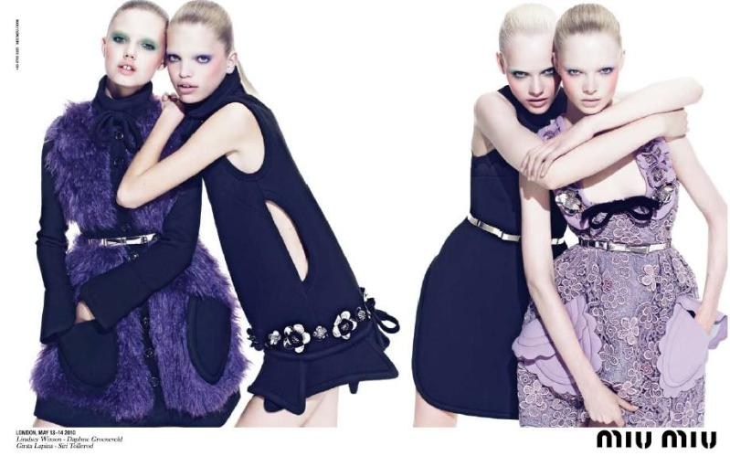 Miu Miu Fall Winter 2010 11 Campaign