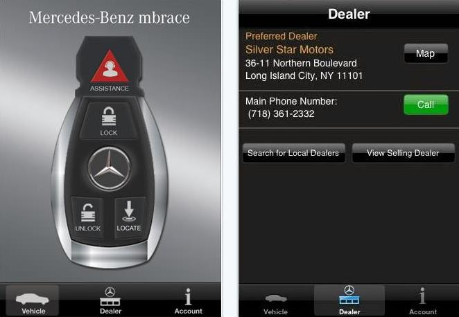 Mercedes Roadside Assistance >> Mercedes-Benz launches new iPhone app