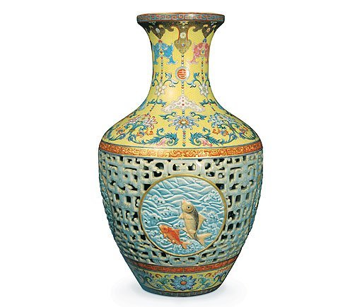 Chinese Vase Sells For Record Breaking 85m