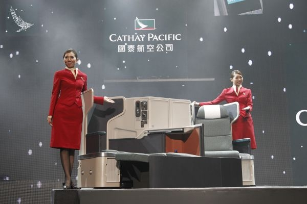 Cathay Pacific new business class seat