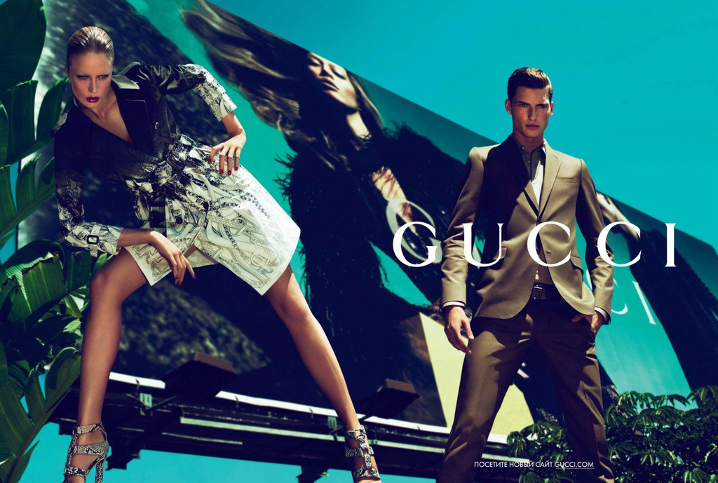 Gucci Cruise poster 2011