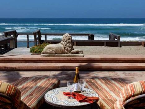 beachfront house Del Mar