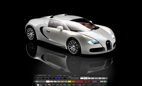 bugatti veyron online configurator