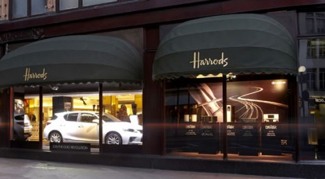 lexus ct 200h harrods london