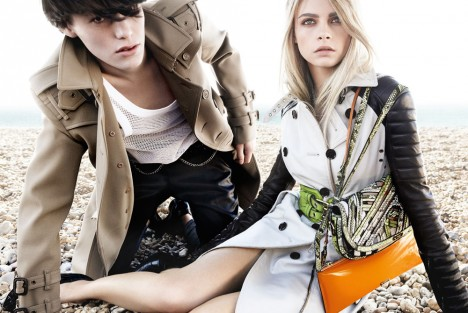 Burberry Spring Summer 2011 Advertising Campaign