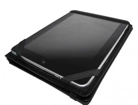 Caveman iPad Case black