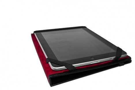 Caveman iPad Case red