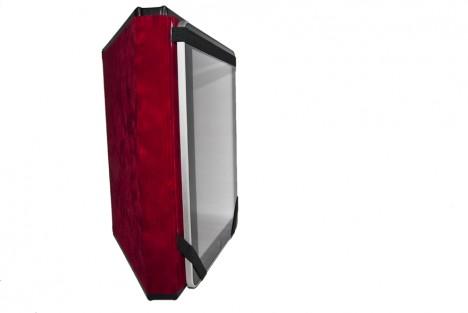 Caveman iPad Case velvet