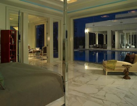 Mansion Windermere pool decking