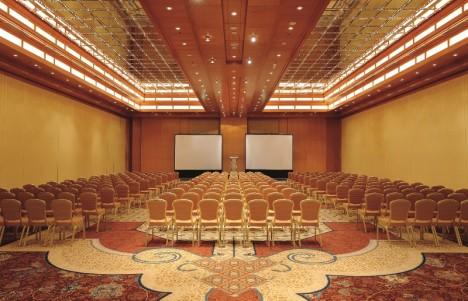 RitzCarlton Dubai conference room
