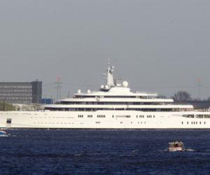 Roman Abramovich superyacht Eclipse