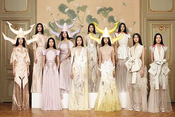 givenchy spring 2011 couture collection