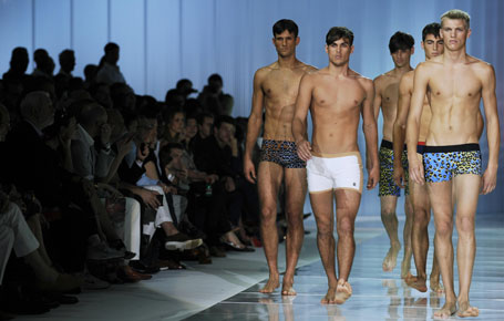 men undies milan show