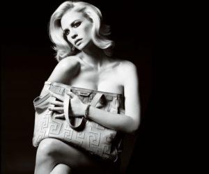 versace handbag January Jones