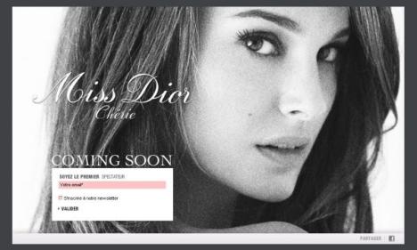 Miss Dior Cherie Portman
