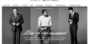 Mr Porter Makes Its Stylish Debut