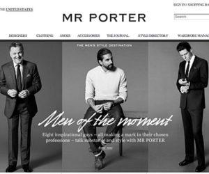 MrPorter website