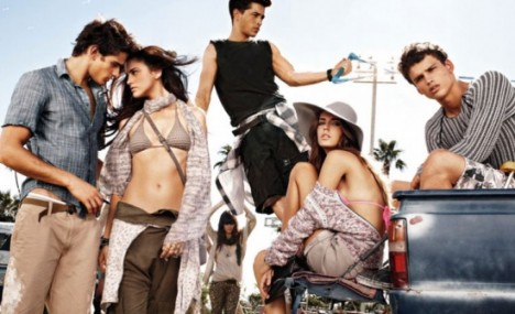 armani exchange spring 2011 ad