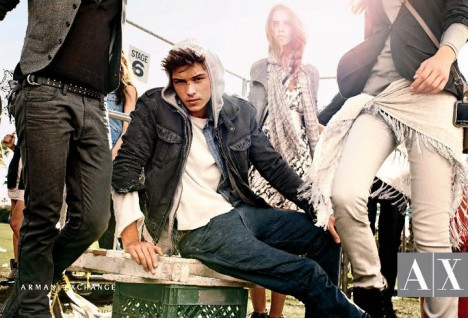 armani exchange spring summer 2011 ad campaign