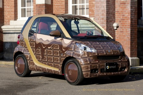 chocolate smart fortwo
