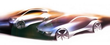 first vehicles from BMW i