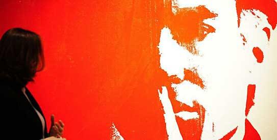 self-portrait Andy Warhol