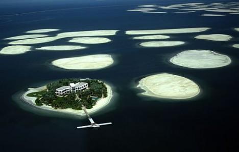 the world islands sinking
