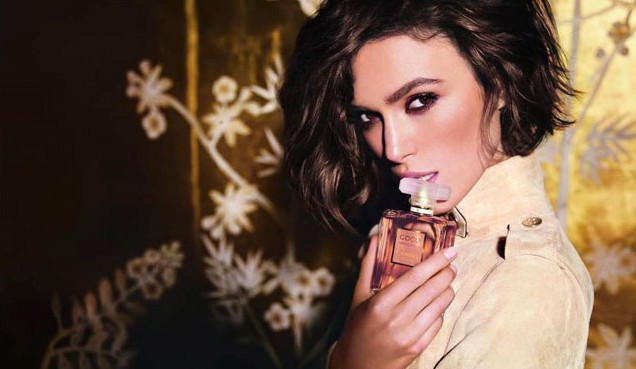 Keira Knightley Chanel Mademoiselle campaign
