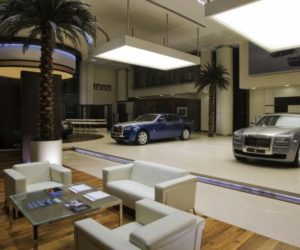Showroom Rolls-Royce Abu Dhabi