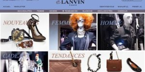 Lanvin's new online store