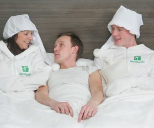 human bed warmer Holiday Inn