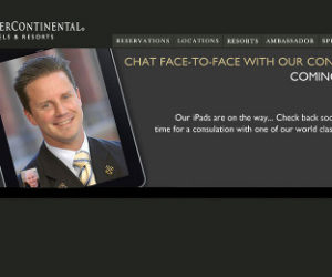 intercontinental facetime