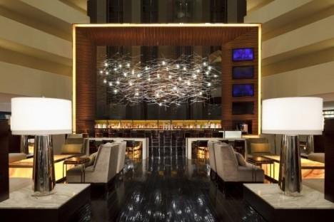 Hilton new lobby design
