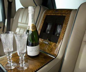 Range Rover Pol Roger Champagne