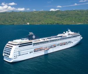 Cruiseship MSC Lirica