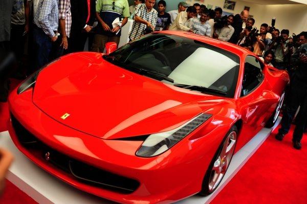 Ferrari 458 india