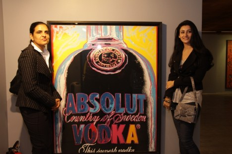 India Exhibition Absolut Warhol
