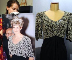 Juliens Auctions dress Diana