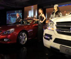 Mercedes-Benz SL350 and GL500