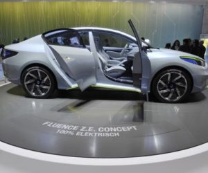 Renault concept car electric Fluence