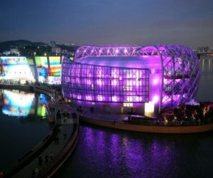 Seoul floating island